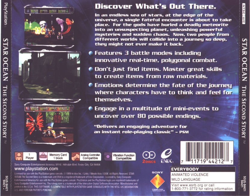 Star Ocean The Second Story NTSC U Disc1of2 ISO